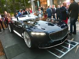 maybach sports car vision mercedes maybach 6 cabriolet concept does this hood make