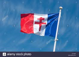 Frwnch Flag French Flag Of Free France Juno Beach Normandy France Stock