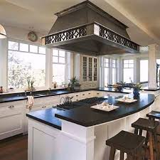 kitchens island different counter heights fair kitchen with an island design home