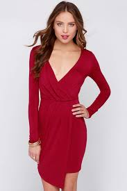 sleeve wrap dress wine dress sleeve dress wrap dress 44 00