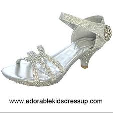 high heels for kids gold girls high heel shoes for pageant