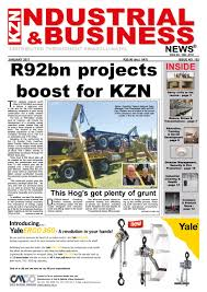 kzn industrial u0026 business news issue 102 by the media u0026 events