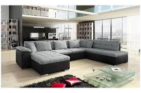 canape en canapé d angle convertible en u alta ii design