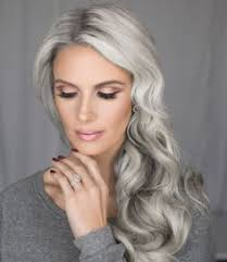 gray hair popular now most beautiful gray silver hair ever this is what i want my