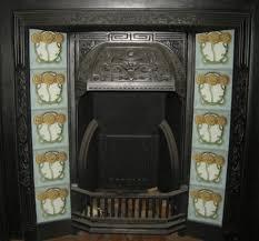 mackintosh rose fireplace tile set ref 3 art nouveau mackintosh