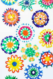 steam project idea psychedelic snowflake craft babble dabble do