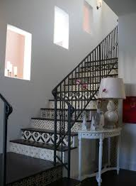 Tiles For Stairs Design How To Get The Look Of Patterned Cement And Encaustic Tile For