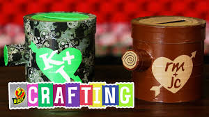 Halloween Duct Tape Crafts How To Craft A Duct Tape Valentine U0027s Day Stump Card Box Youtube