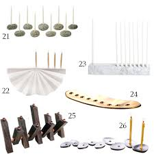 modern menorah get the look 31 modern menorahs stylecarrot