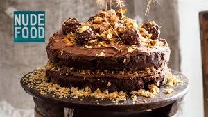 how to make ferrero rocher chocolate hazelnut cake youtube