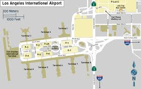 San Diego International Airport Map by Los Angeles International Airport U2013 Travel Guide At Wikivoyage
