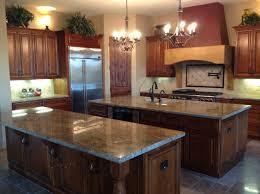 custom double island kitchen designs fiorentinoscucina com