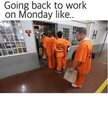 Monday Work Meme - going back to work on monday like meme on me me