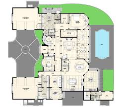 Modern Villa Floor Plan by Luxury Villas Floor Plans Modern House Luxury Home Floor Plans