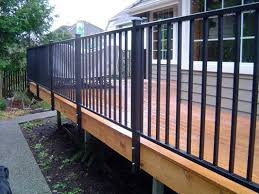 Banister Remodel Bedroom Incredible Best 10 Aluminum Deck Railing Ideas On