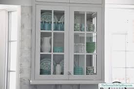 kitchen with glass display cabinets ellajanegoeppinger com