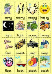 worksheet rhyming words game page 2