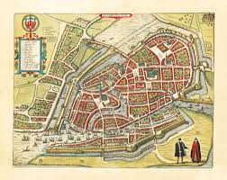 Map Of Hamburg Germany by Amazing Maps Of Medieval Cities Daily Infographics