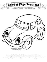 dulemba coloring tuesday car