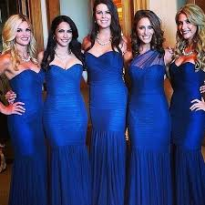 cobalt blue bridesmaid dresses cobalt blue bridesmaid dresses bouquet wedding flower