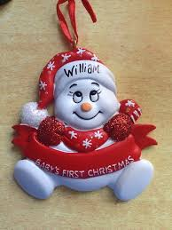 Baby S First Christmas Decoration Uk by Baby U0027s First Christmas Personalised Christmas Tree Decoration