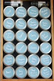 spice organizer idea how to create a mason jar drawer system