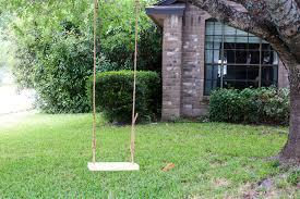 how to make a diy wood tree swing love u0026 renovations