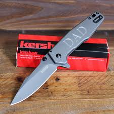 engraved pocket knives for groomsmen kershaw knives the best gifts