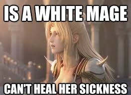 Final Fantasy Memes - final fantasy iv logic video games video game memes pok礬mon go
