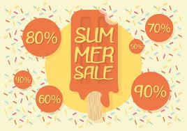 summer sale free summer sale vector background free vector