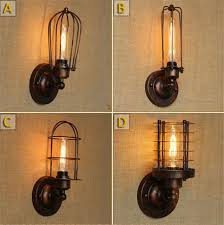 Industrial Wall Sconce Lighting Aliexpress Com Buy Vintage Led Wall Lamp American Loft