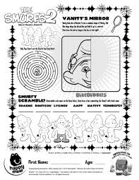 smurfs 2 coloring pages best 6802
