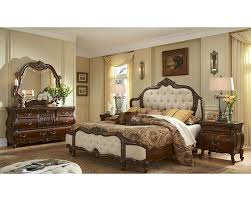Awesome Upholstered Headboard Bedroom Sets Ideas Home Design - King size bedroom sets with padded headboard