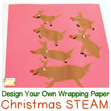 make your own wrapping paper christmas activities for children design your own wrapping paper