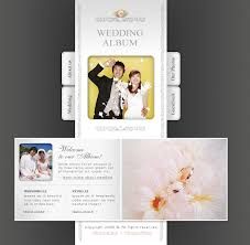 Wedding Album Pages Website Design 11676 Personal Wedding Album Custom Website Design