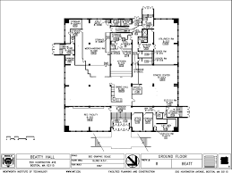 existing bulding plans wit beatty hall renovation 2010