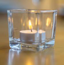 glass tea light holders glass tea light holders 8cm x 8cm dm hay