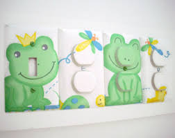 Frog Nursery Decor Frog Bedroom Decor Etsy