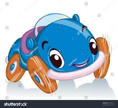 vector illustration cute race car card stock vector 83438125