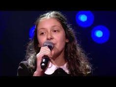 The Voice Kids Blind Auditions 2014 Noralie U0027be My Baby U0027 Blind Auditions The Voice Kids Vtm