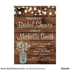 Mason Jar Bridal Shower Invitations Bridal Shower My Party Invitations