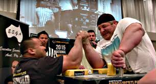 2015 national armwrestling titles right arm finals