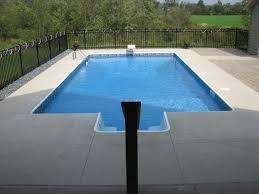 Mountain Lake Pool Design by Inground Pools Paradise Pool And Spa