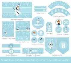 Frozen Invitation Cards Best Olaf Birthday Invitations Free Templates Egreeting Ecards