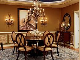 Traditional Dining Room Chandeliers Decorating Exciting Family Room Design With Duron Paint Wall And