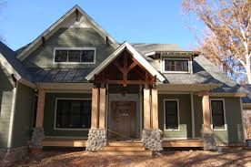 contemporary craftsman style home plans home plan