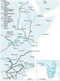 East Africa Map A New East Africa Cairn International
