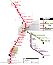Marta Rail Map Metrorail