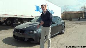 review 2008 bmw m3 sedan youtube