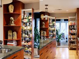 galley kitchen with 2 pull out pantry units kitchen design